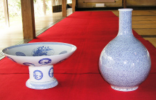 Sake Cup and Sake Bottle