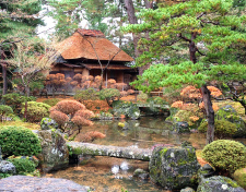 Tea Houses (not open to the public) 1